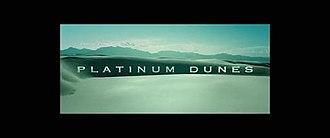 Platinum Dunes - Image: Platinum Dunes