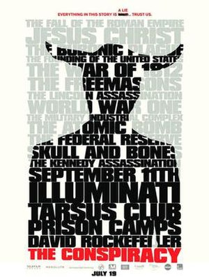 The Conspiracy (2012 film) - Theatrical release poster