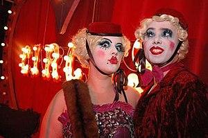 Pustra/Vile-een's Vaudeville - Image: Pustra & Vile een by Barry Newman