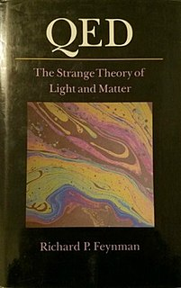 <i>QED: The Strange Theory of Light and Matter</i> book by Richard Feynman