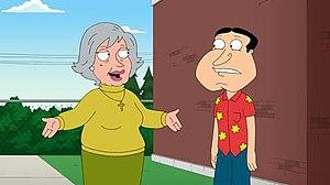 Quagmire's Mom - Glenn Quagmire and his born-again Christian mother, Crystal