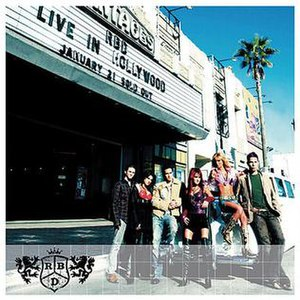 Live in Hollywood (RBD album) - Image: RBD Live In Hollywood