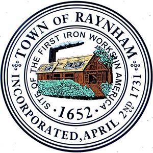 Official seal of Raynham, Massachusetts