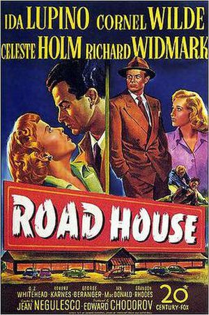 Road House (1948 film) - Theatrical release poster