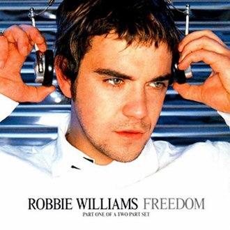 Freedom! '90 - Image: Robbie Williams Freedom s