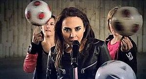 Rock Me (Melanie C song) - Melanie C in a music video scene..