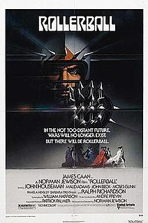 <i>Rollerball</i> (1975 film) 1975 film by Norman Jewison