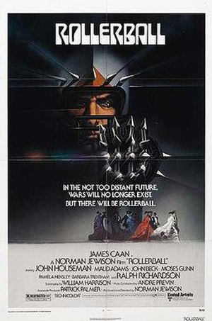 Rollerball (1975 film) - Image: Rollerball Poster