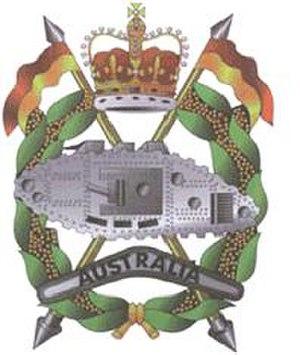 Royal Australian Armoured Corps - Image: Royal Australian Armoured Corps