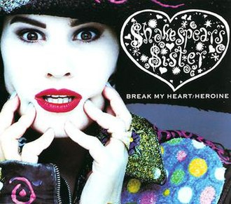Shakespears Sister - The cover of Shakespears Sister's first single, showing the woodcut containing the misspelling.