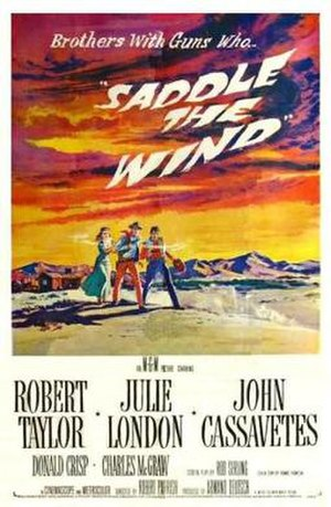 Saddle the Wind - Theatrical Film Poster