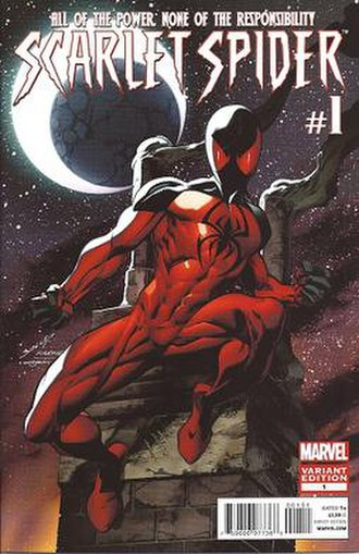 Scarlet Spider (comic book) - Image: Scarlet Spider volume 2 First (variant)