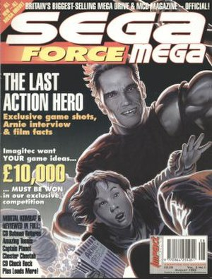 Sega Force - Image: Segaforcemega 1