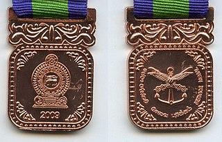 Sewa Padakkama Sri Lankan military awards and decorations for service to the nation