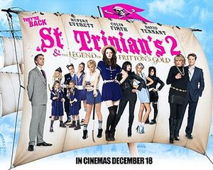 St Trinian's 2: The Legend of Fritton's Gold - British release poster