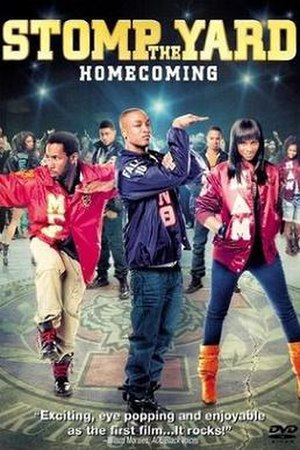 Stomp the Yard: Homecoming - DVD cover