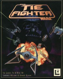 Star Wars: Tie Fighter box art