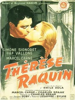 <i>Thérèse Raquin</i> (1953 film) 1953 film by Marcel Carné