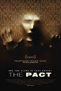 <i>The Pact</i> (2012 film) 2012 television film directed by Nicholas McCarthy