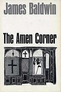 <i>The Amen Corner</i> 1954 play written by James Baldwin