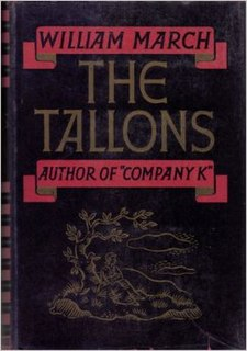 <i>The Tallons</i> book by William March