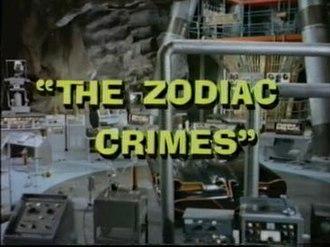 The Zodiac Crimes - Image: The Zodiac Crimes