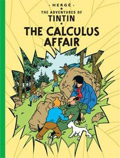 <i>The Calculus Affair</i> comic book album