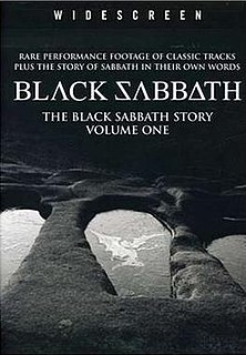 <i>The Black Sabbath Story, Vol. 1</i> 1991 video by Black Sabbath