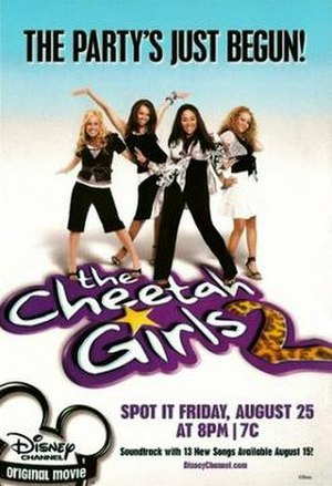 The Cheetah Girls 2 - Promotional poster