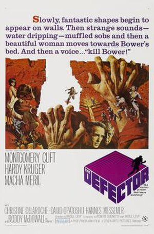 The Defector (film) - Film poster by Frank McCarthy