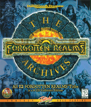 The Forgotten Realms Archives - Image: The Forgotten Realms Archives Coverart