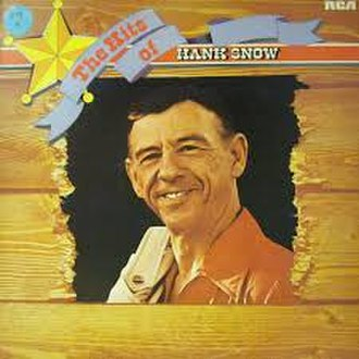 The Hits of Hank Snow - Image: The Hits of Hank Snow LP