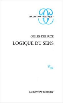 The Logic of Sense (French edition).jpg