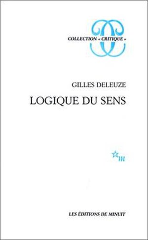The Logic of Sense - Cover of the French edition