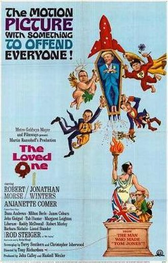 The Loved One (film) - theatrical poster