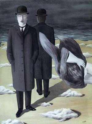 The Meaning of Night (painting) - Image: The Meaning of Night by Rene Magritte