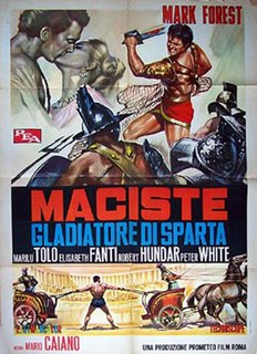 <i>The Terror of Rome Against the Son of Hercules</i> 1965 film by Mario Caiano