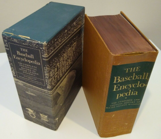 <i>The Baseball Encyclopedia</i> Baseball reference book