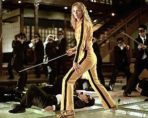 The Bride (Kill Bill) - The Bride fighting the Crazy 88