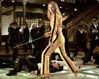 The Bride (Kill Bill) - The Bride fighting the Crazy 88