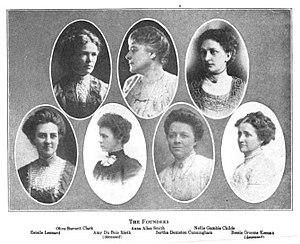 Alpha Chi Omega - The founders of Alpha Chi Omega