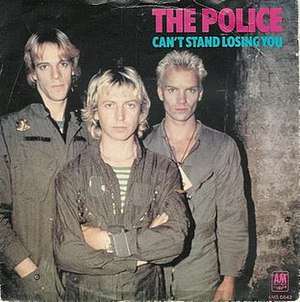 Can't Stand Losing You - Image: The police cant stand losing you s