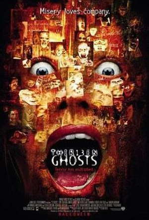 Thirteen Ghosts - Theatrical release poster