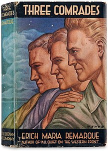 <i>Three Comrades</i> (novel) book