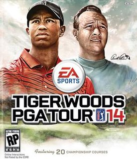 <i>Tiger Woods PGA Tour 14</i> 2013 video game