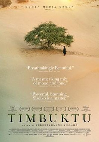 Timbuktu (2014 film) - Theatrical release poster