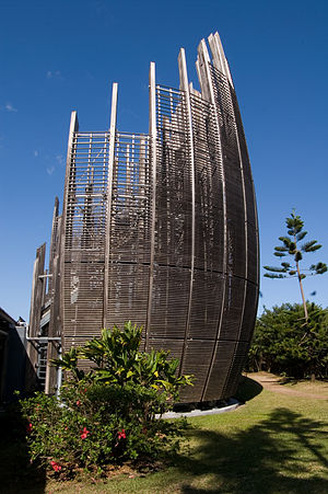 Jean-Marie Tjibaou Cultural Centre - Jean-Marie Tjibaou Cultural Centre in Nouméa