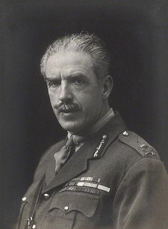 Tom Bridges - Sir Tom Bridges in 1918