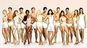 Top Model Sverige (cycle 4) - Promotial Photograph of the Cast of Cycle 4 of  Top Model Sverige