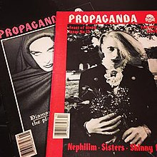 Two issues of Propaganda magazine.jpg